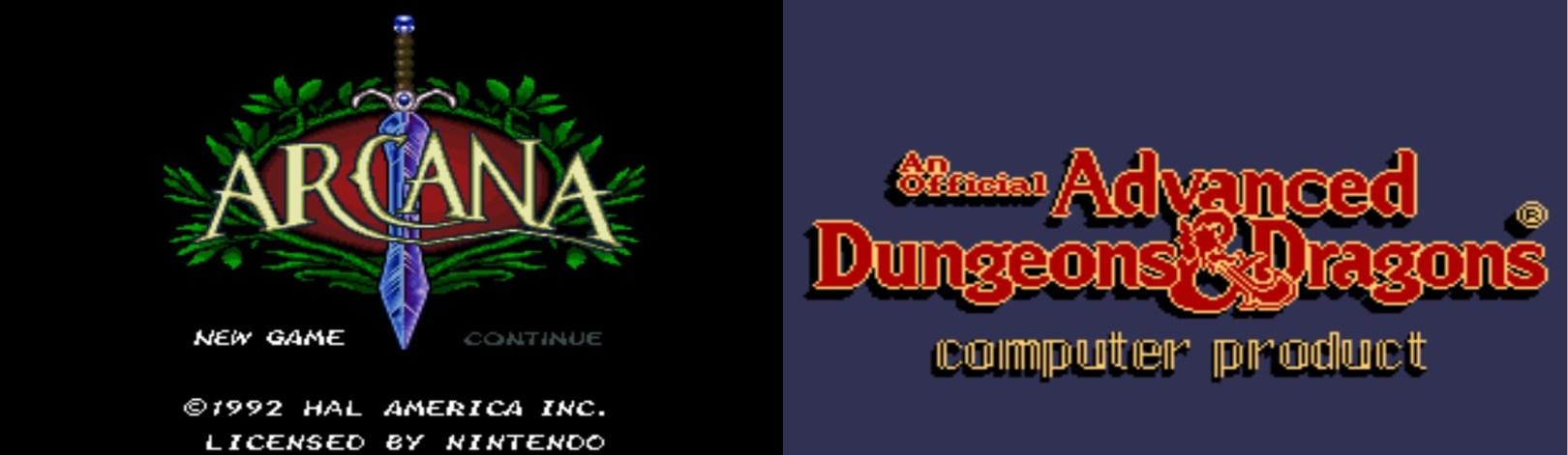 Los Raros del Fondo Función doble: Arcana y Advanced Dungeons & Dragons - Bitwares