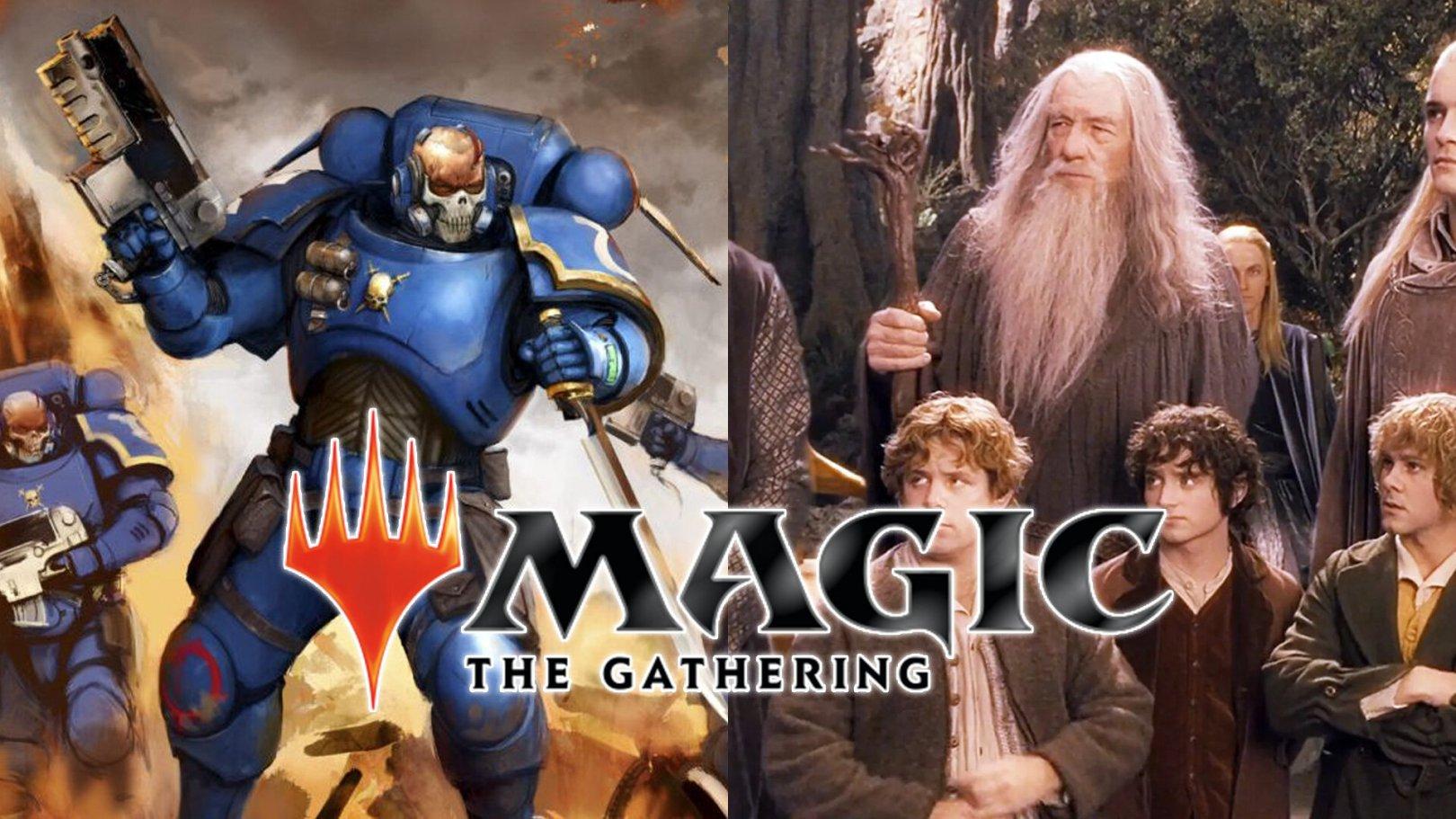 Magic: The Gathering presenta Universes Beyond con contenido de El señor de los Anillos y Warhammer