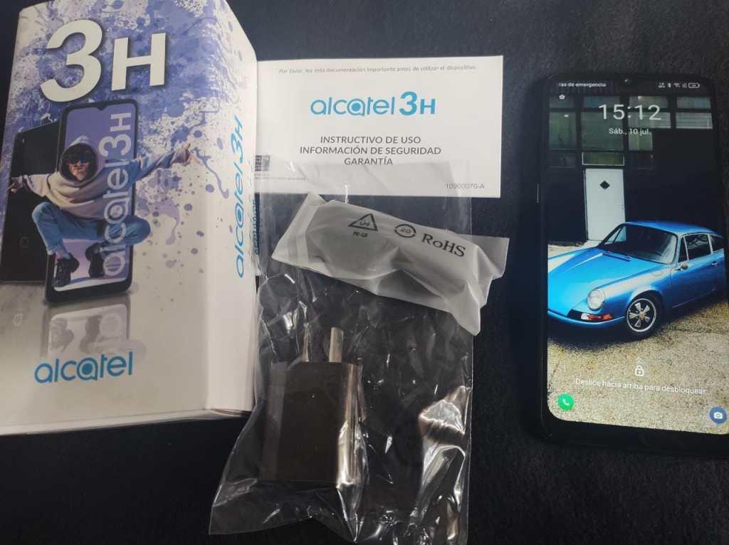 Alcatel 3H Foto componentes