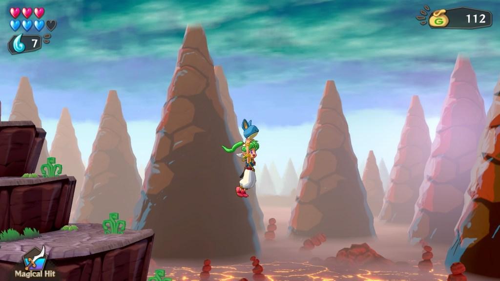Wonder Boy Asha in Monster World  - Bitwares 2